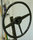 Steering Wheel finished
