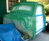 Cab Painted