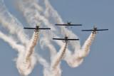 The Flying Bulls Aerobatics Team