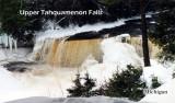 Upper Tahquamenon Falls Winter, Michigan