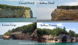Pictured rocks National Lakeshore (4 designs)