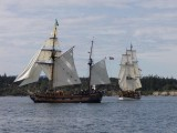 Lady Washington & Hawaiian Chieftain Summer 2008