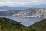Korčula - view towards Pelješac