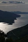 View towards Korčula from Sveti Ilija