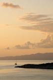 Mljet - sunset at Pomena
