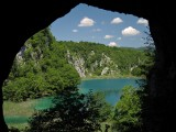 Lower lakes from Supljara Cave