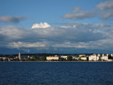 View of Zadar from the ferry to Preko