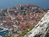 Dubrovnik - view from Mt Srđ