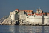 Dubrovnik - from the Lokrum ferry