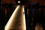 Zadar - footbridge at night