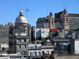 Montevideo - view towards the Cathedral