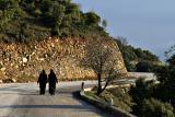 Walking Home, near Agiou Stefanou