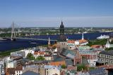 Riga, from St Peter's Church