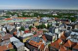 Riga Old Town from St Peter's Church