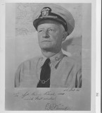 signed photo to dad from Adm. Nimitz