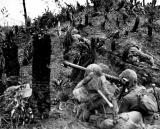 US bazooka team on Okinawa