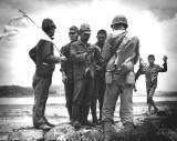 Japs surrendering on Oroku