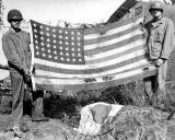 2 flags on Saipan