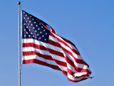 Flag in a Warm Southern Breeze