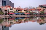 Boat Quay in the morning