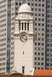 Clock tower at the Victoria Concert Hall