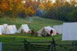Colonial Troop Encampment