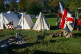 ... the British camp ...