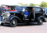 Field Marshal Montgomery's Staff Car from WWII