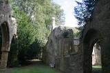 Entry way into the Ettington Family Crypt