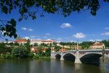 The Manesuv Bridge over the Vltava River