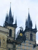 The Gothic Spires ...