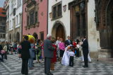 A Wedding in the Old Town Square