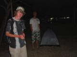 A dwarf tent