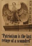 Patriotism: Last Refuge of a Scoundrel