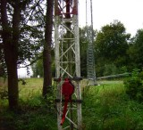 tower winch to lift sections and other heavy stuff