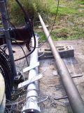 rotating pipe waiting