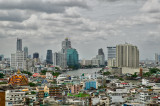 Chao Phraya river, Bangkok, viewed from Chinatown