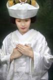 Traditional Japanese wedding dress