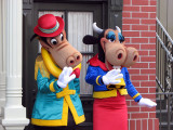 Horace and Clarabelle