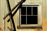 Corrugated Shed Window