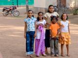 Children in Church Yard