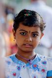 Girl at Hindu Festival