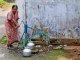 Woman at Pump