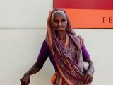 Woman in Alleyway