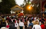 Hindu Festival Crowd, Varkala