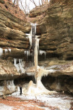 Starved Rock State Park, Ice Falls