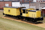 CNW Davenport Locomotive & Caboose at Clinton Iowa.JPG