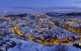 Halden - view from Rødsberget on NewYearsday #1