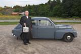 Ingemar Carlsson Tjärnö and his Volvo PV