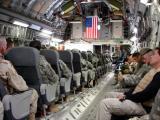 C17 flight to Iraq